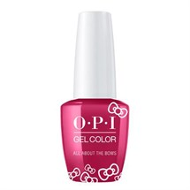 OPI GelColor 15ml - Hello Kitty - All About The Bows