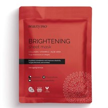 BeautyPro Collagen Brightening Collagen Sheet Mask 23g
