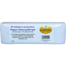 Capital Paper Waxing Strips Pk100