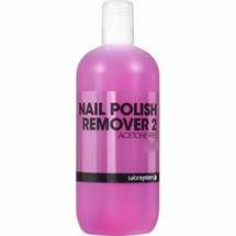 Salon System Profile Nail Polish Remover 2 500ml - Acetone Free
