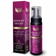 Crazy Angel Midnight Delight Dark Self-Tan Mousse 200ml