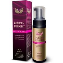 Crazy Angel Golden Delight Self-Tan Mousse 250ml