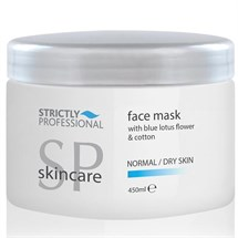 Strictly Professional Face Mask with Blue Lotus Flower & Cotton 450ml