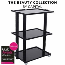 Capital Pro Beauty Trolley - Black