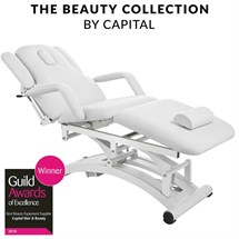 Capital Bayswater 3 Motor Massage Couch - White