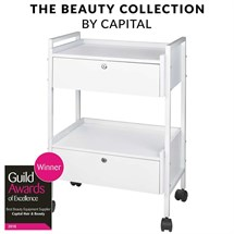 Capital Pro Beauty Duo Clinic Trolley - White