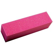 Sinful Pink Sparkle Buffing Block 180 - Single