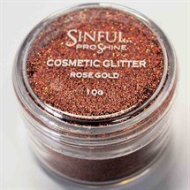 Sinful PROshine Cosmetic Glitter 10g - Rose Gold