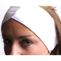 Capital Velcro Headband White