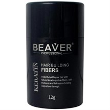 Beaver Professional Keratin Hair Building Fibers 12g - Medium Blonde