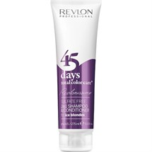 Revlon 45 Days Total Color Care 2 in 1 Shampoo & Conditioner - Ice Blondes