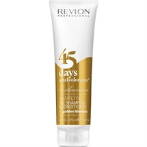 Revlon 45 Days Total Color Care 2 in 1 Shampoo & Conditioner - Golden Blondes