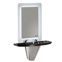 Salon Ambience Cliff Barber Styling Unit - with Basin & Mixer