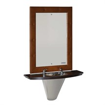 Salon Ambience Chester Barber Styling Unit with Basin