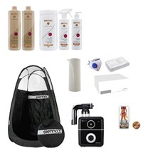 Sienna X True Touch Spray Tan Kit - Black