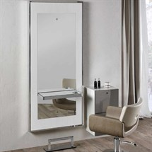 Salon Ambience Fusion White Ash Styling Unit