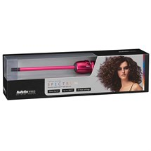 BaByliss PRO Spectrum 10mm Thin Ceramic Wand - Hot Pink (BAB2210U)