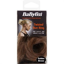 BaByliss Soft Wave Twisted Bun Ring - Golden Brown