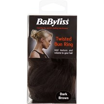 BaByliss Soft Wave Twisted Bun Ring - Dark Brown