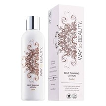 WHITE to BROWN Self Tanning Lotion 250ml - Dark