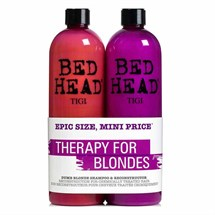 TIGI Bed Head Dumb Blonde Shampoo/Conditioner 750ml Tween Duo
