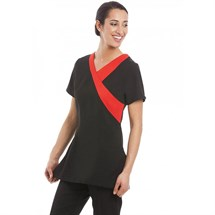 Gear Ohio Tunic Black with Red Trim - Size 18