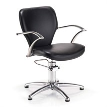 REM Heritage Hydraulic Chair - Black