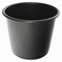 Q-Connect Waste Bin 15 Litre Black