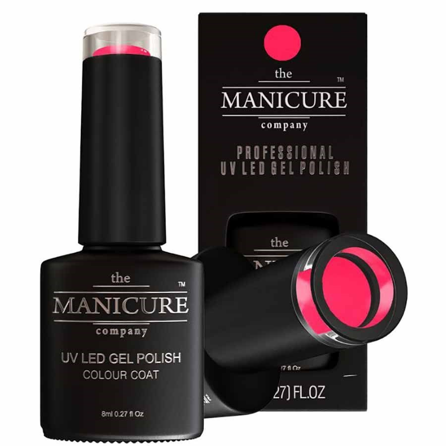 The Manicure Company UV LED Gel Nail Polish 8ml - Neon Pink | Gel ...