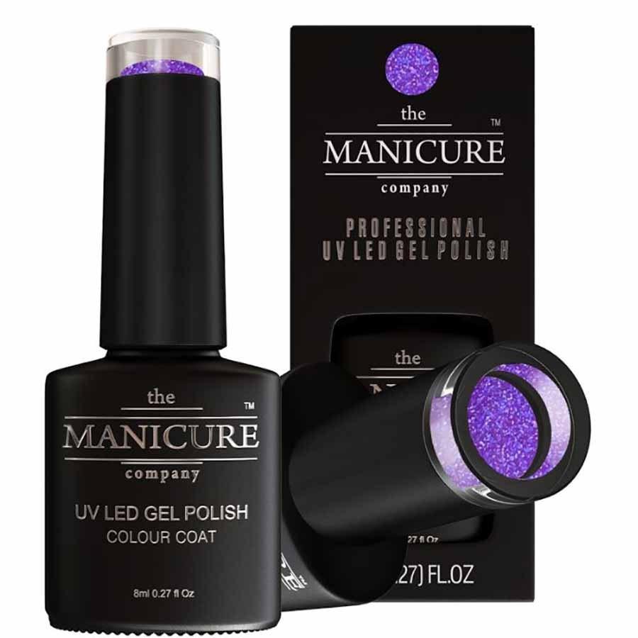 The Manicure Company Uv Led Gel Nail Polish 8ml Purple